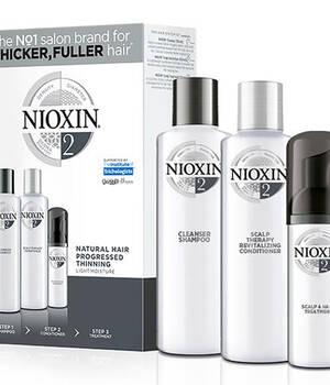 3-СТУПЕНЧАТАЯ СИСТЕМА NIOXIN № 2 (300 мл) Для натуральных истонченных волос